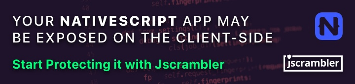Protect your NativeScript App with Jscrambler