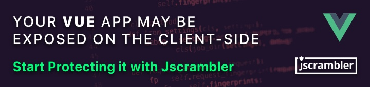 Protect your Vue App with Jscrambler